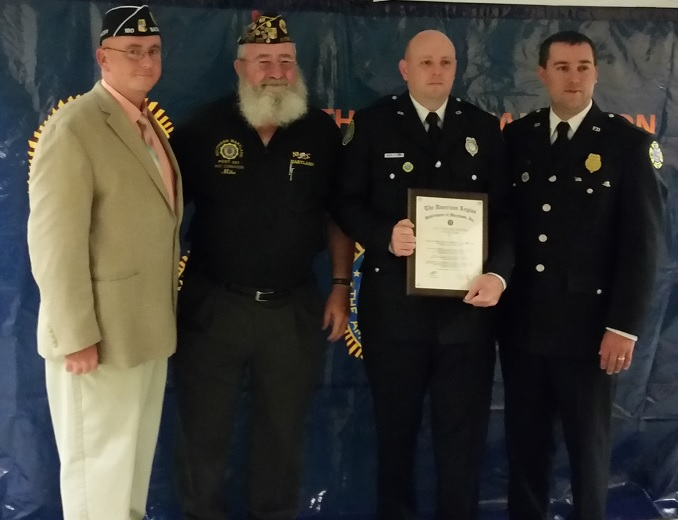 AL Dept of MD 2014 Vol. Firefighter of the Year